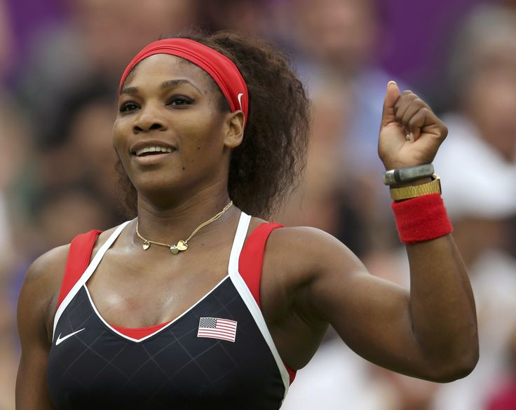 Serena Williams is the top of all the female tennis players, born September 26 , 1981 she managed to rank number one for six times already in her career. Description from topfemaletennisplayers.com. I searched for this on bing.com/images