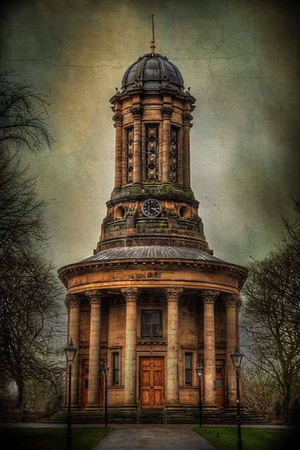 Saltaire Church – Bradford, Yorkshire, UK. Photograph by Declan O'Doherty.