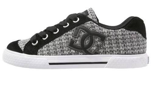 Dc Shoes Chelsea Zapatillas Skate Black White Grey zapatillas Zapatillas white skate Grey Dc Shoes Chelsea black Noe.Moda