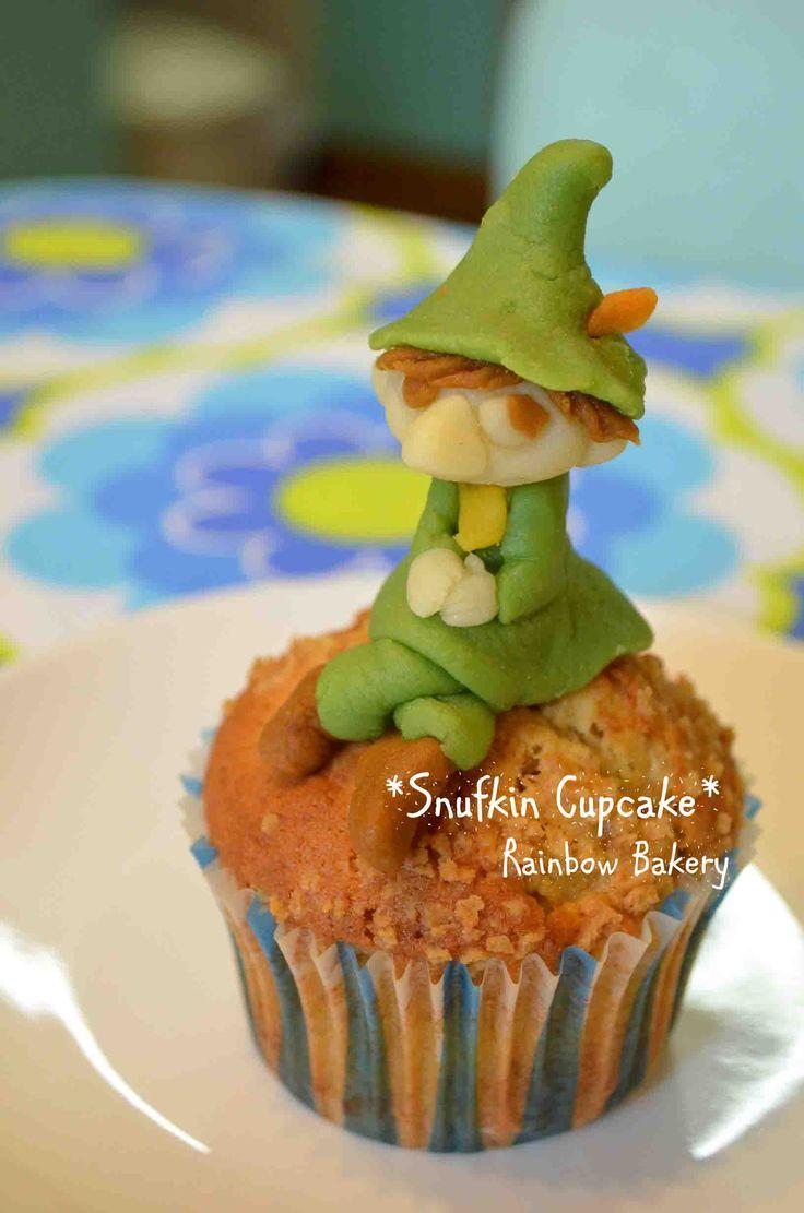 Snufkin Cupcake