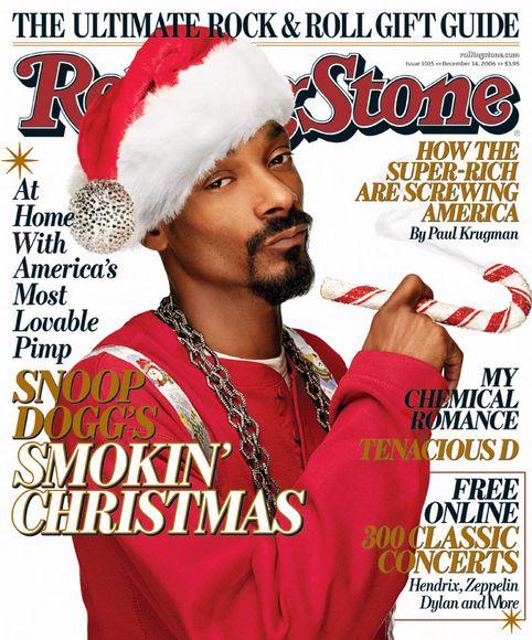 Galet men roligt julomslag från 2006.