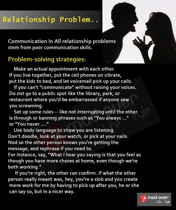 how to fix anger problems in a relationship