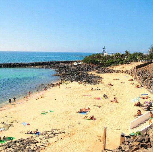 Costa Teguise, Lanzarote, Canary Islands, Spain