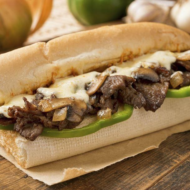 Sandwich fondant au boeuf à la raclette