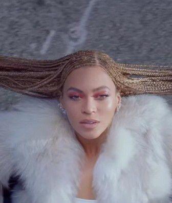 Beyonce formation cornrow