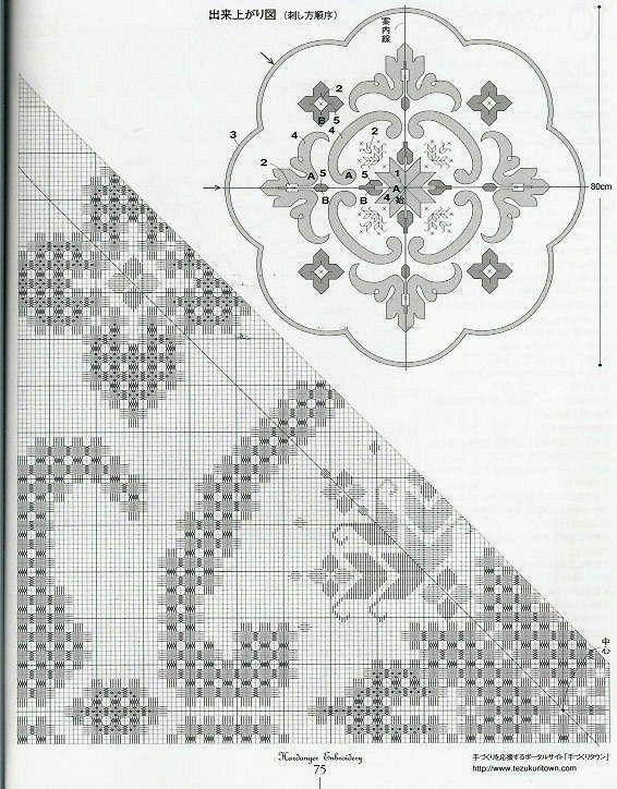 Gallery.ru / Фото #17 - Hardanger Embroidery(япония) - Orlanda