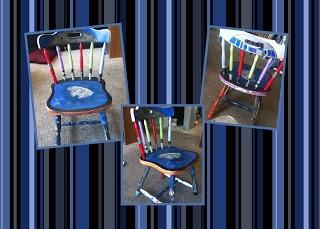 Star wars chair crafts pinterest