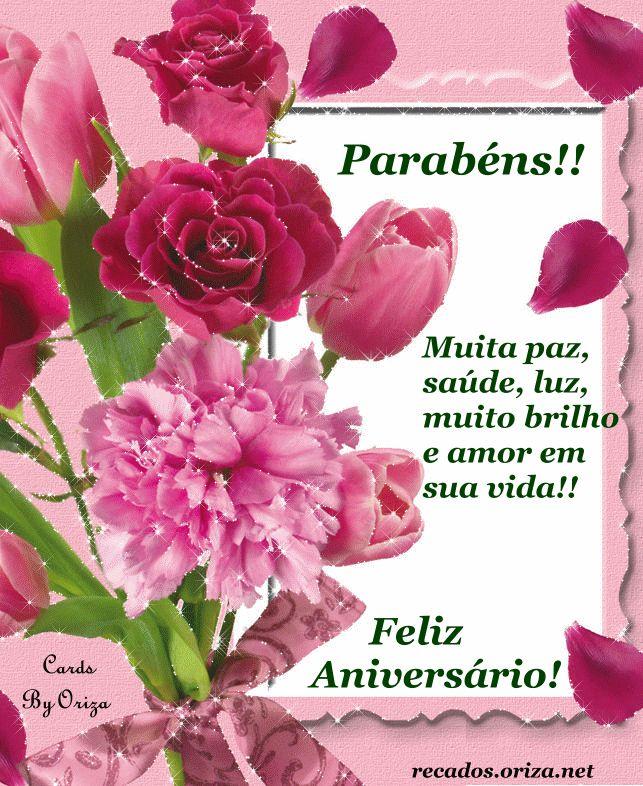 flores para feliz aniversario imagens | Feliz Aniversário! Muito brilho em sua vida!!