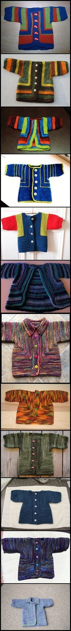 How one thing can be changed by color?  Surprise Jacket  by Elizabeth Zimmermann made with malabrigo.