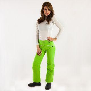 #carlabikini Pantalon de ski technique #Watts Femme Bardo Vert Fluo