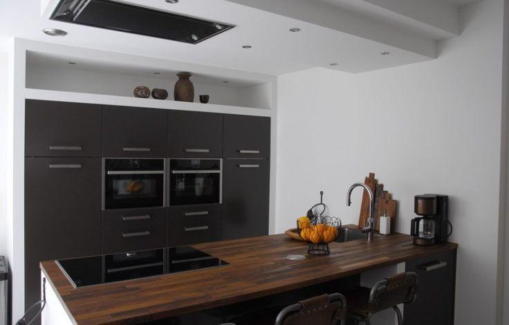 Moderne keuken met industriële look