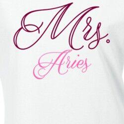 Mrs Aries.......