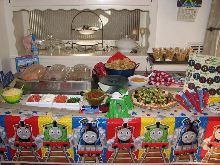 Thomas The Train Themed Party Food Ideas