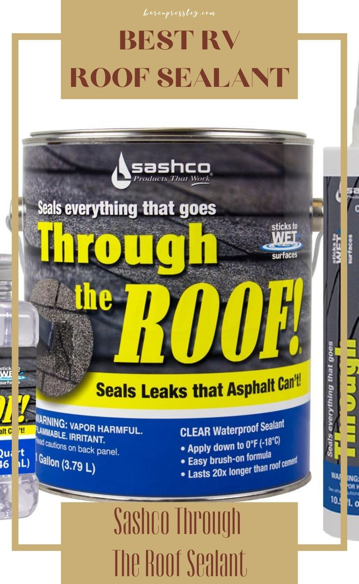 Best RV Roof Sealant (RV Roof Sealant Review and