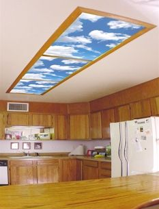 skyscapes decorative fluorescent lighting covers light panels and light diffusers