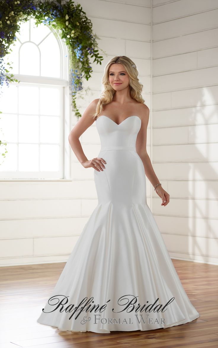 how much does the average wedding dress cost australia%0A Essense of Australia Chic And Simple Strapless Fit And Flare Wedding Dress  Style