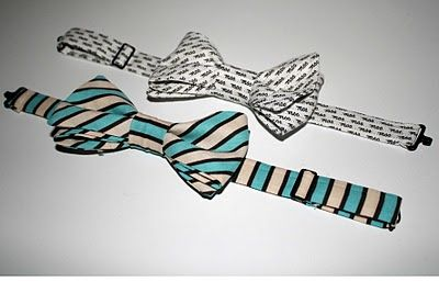 One Sassy Housewife: Little Boy Bow Ties: Part 2 adjustable closure for bowtie