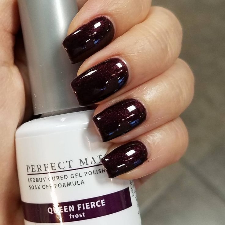 Queen Gel Nail Polish: 25+ Best Fall Gel Nails Ideas On Pinterest