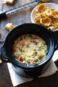 Skinny Crab and Artichoke Dip - just 75 calories for this creamy, delicious appetizer!   pinchofyum.com