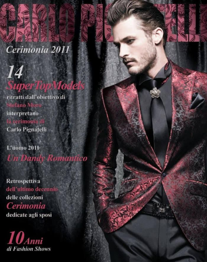 Stefano Moro photographs Alexandre Cunha, Antonio Navas, Ben Hill, Evandro Soldati, Patrick Kafka, Simon Nessman, Texas Olsson, Thomas Hoefnagels, Travis Davenport and others for a dark spring outing from Carlo Pignatelli. Dressed to a t and embodying the very idea of luxe, Pignatelli's men puts an impeccable foot forward in tailored suiting, cut from rich...[ReadMore]
