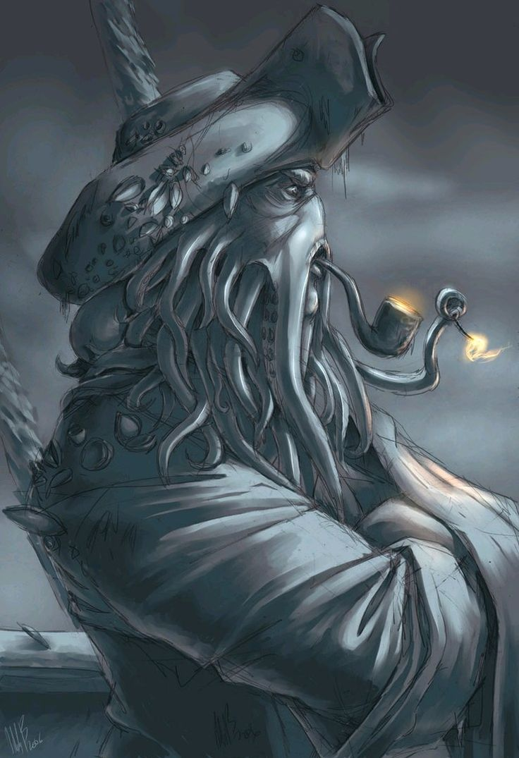 POTC - Davy Jones by ~wynahiros on deviantART