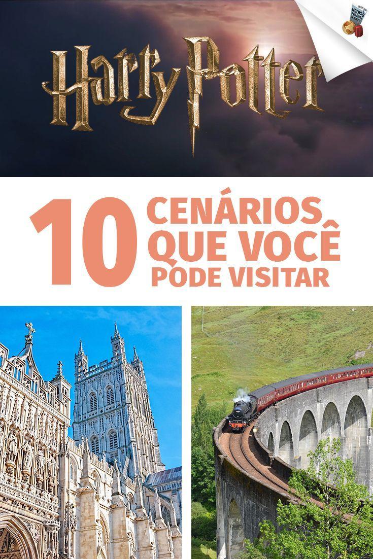 Neste vídeo falamos sobre o universo Harry Potter, mais especificamente de 10 cenários dos filmes da saga que você pode visitar. Tem castelo, igreja, paisagens e até truques de mágica!