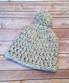 Free Chunky Beanie Crochet Pattern for Beginners