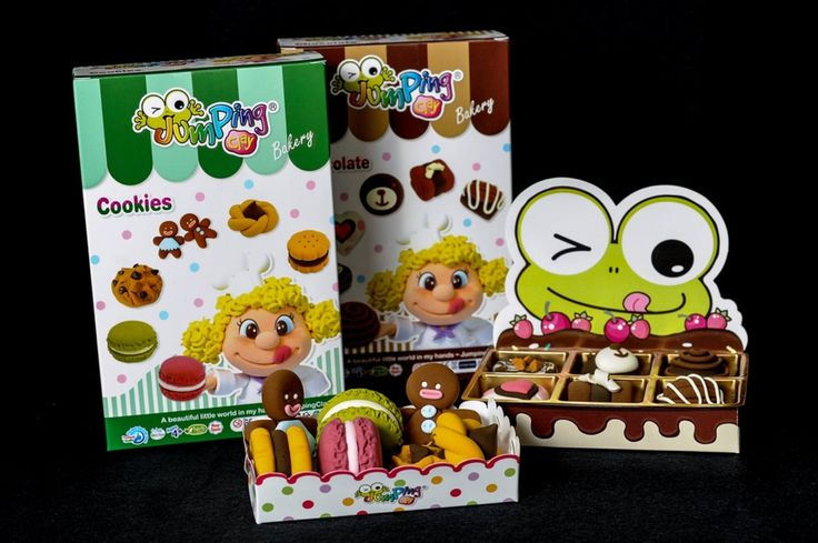 JumpingClay Bakery Series - Cookies and Chocolates