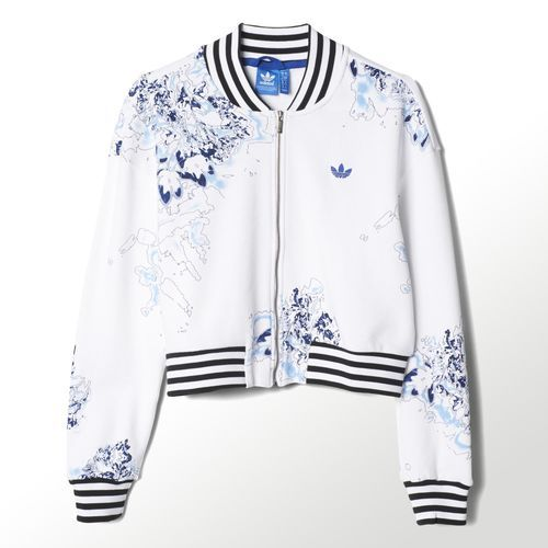London printed track jacket, $59.99, Adidas.com