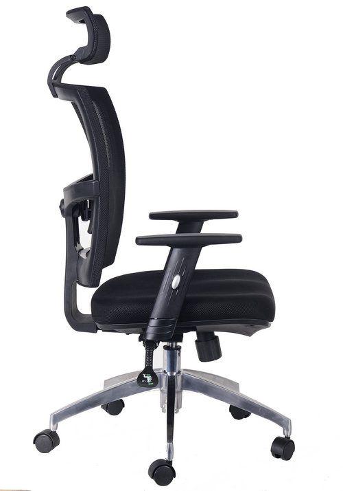 high back quality manager ergonomic computer black mesh swivel desk rh pinterest com