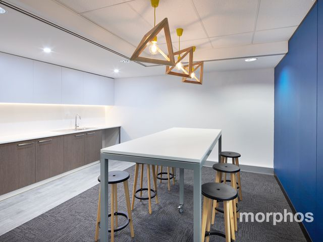 Charter Hall Spec Tenancy by Morphos | Office Fitout | Commerical Interior Design | Office Kitchen Breakout