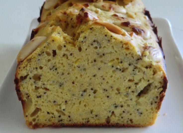Ma petite cuisine gourmande sans gluten ni lactose: Cake au citron, aux graines de pavot et aux farines de lupin et de riz