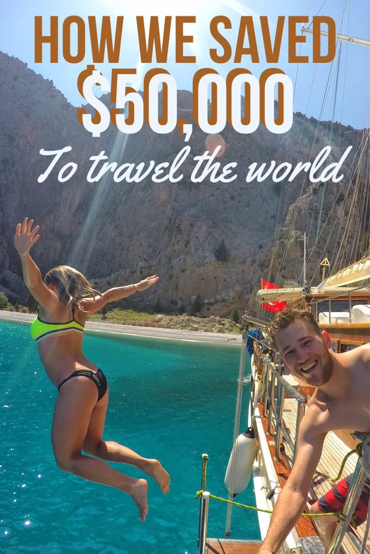 We saved over $50,000 in just one year so that we can travel the world! How?