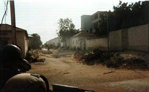 Black Hawk Down Rangers under fire October 3, 1993 - Battle of Mogadishu (1993) - Wikipedia, the free encyclopedia