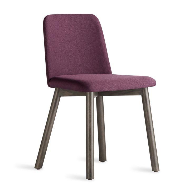Chip modern chair smoke purple office pinterest for Modern dining chairs pinterest