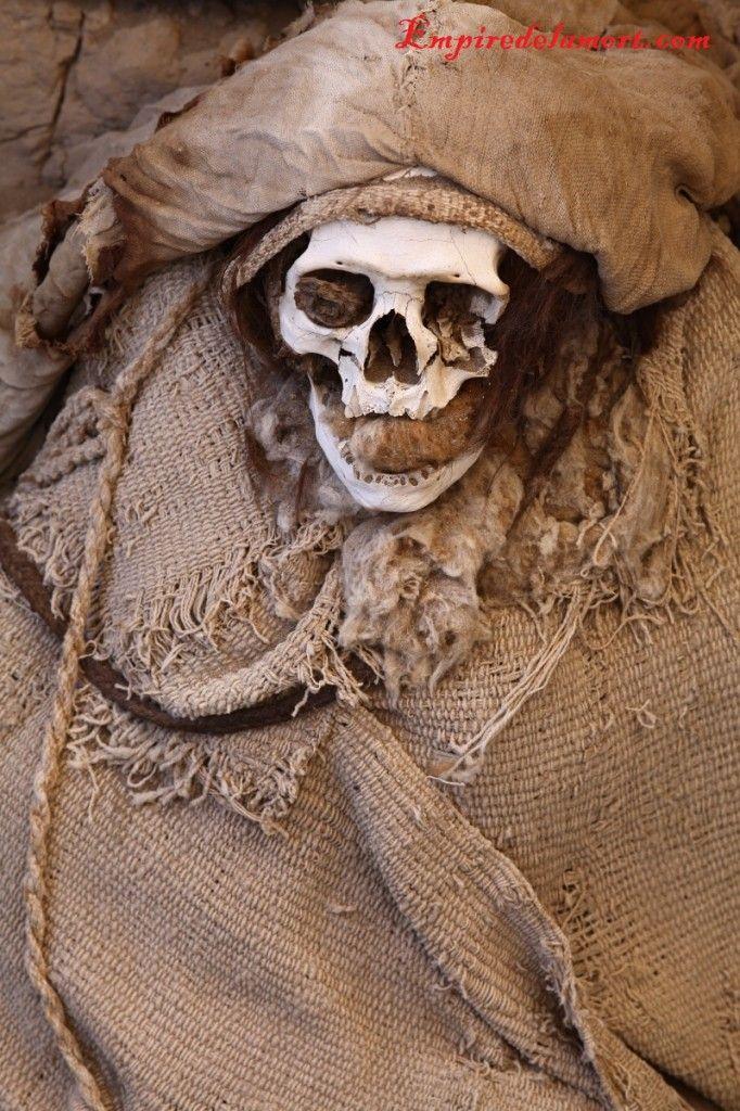 Nazca, Peru Chauchilla Cemetery mummies