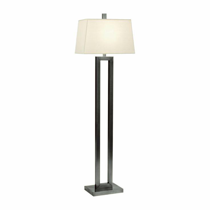 Stafford bronze floor lamp ethan allen us living room for Stafford bronze floor lamp