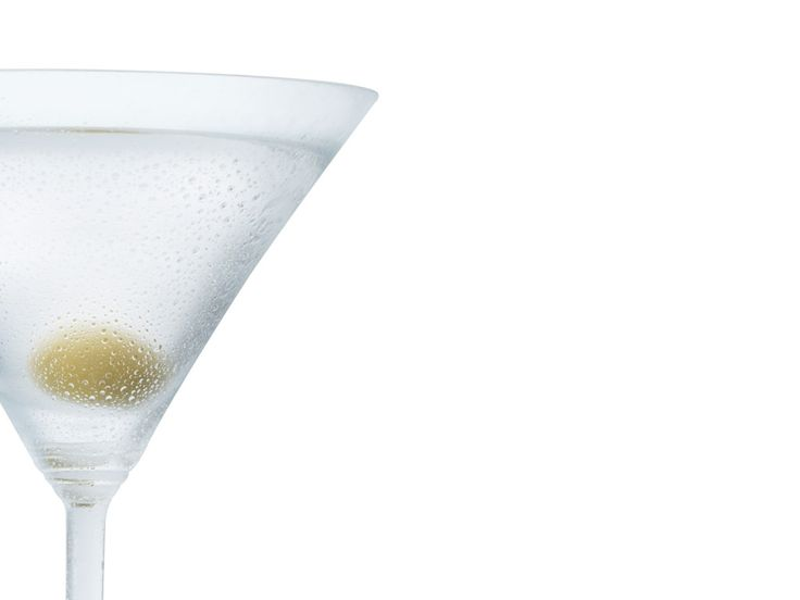 Gordon's Gin Dry Martini Cocktail - To prepare, stir the vermouth into the gin until mixed, add the ice and stir again. Strain into martini cocktail glass and garnish with a green olive.    Serve in a martini cocktail glass.