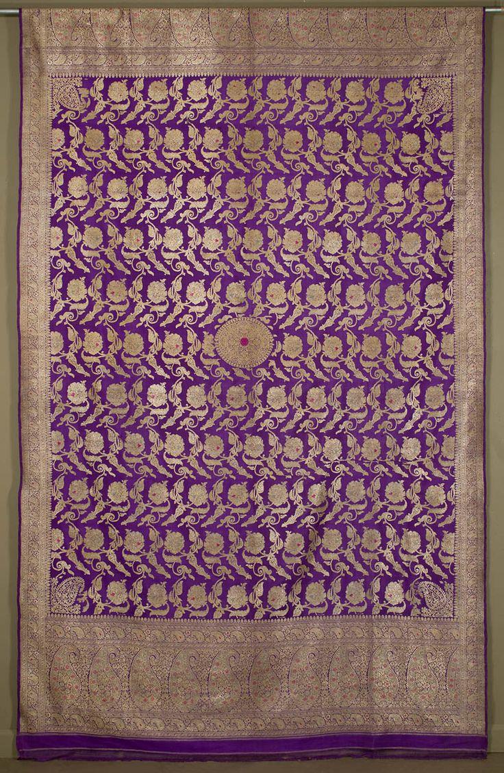 The Benarasi Sari is poetry in silk. These saris are made by weavers in and around Varanasi