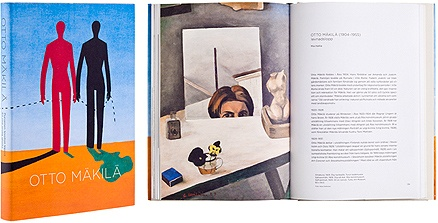Otto Mäkilä. Our publication was chosen 2011 to the collection of the Most beautiful books in Finland. Design Minna Luoma.