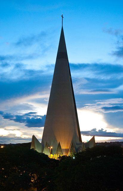 Catedral Maringa, Parana, Brazil