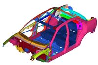 ECS provides Computer Aided Engineering (CAE) services like Finite Element Modeling (FEM) and Finite Element Analysis (FEA) to the automotive industry.