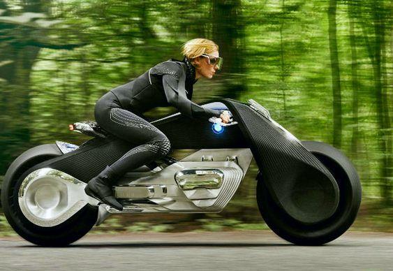 ESCULTURA FUNCIONAL SEM ARTICULAÇÕES  A Motorrad VISION NEXT 100 é o suprassumo da alta tecnologia em perfeita simbiose entre o piloto e a máquina de duas rodas.  Seu design foi reinterpretado …