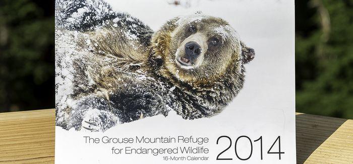 Grouse Mountain - The Peak of Vancouver  2013-2014 Calendar