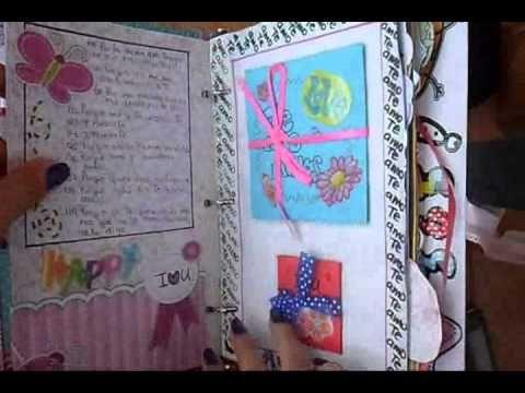 Cuaderno regalo para mi novio :) - YouTube