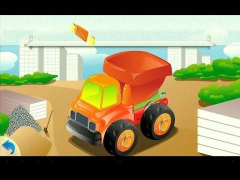 Мультик про машинки. Собираем грузовичок и другие машины