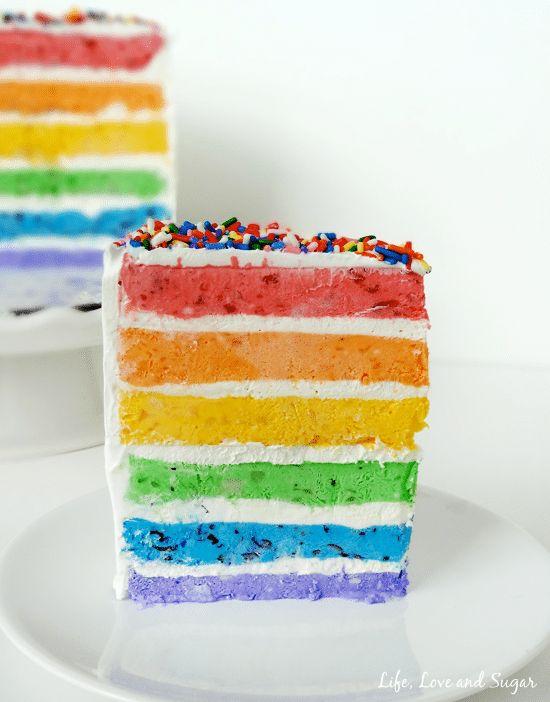 Best 25 Rainbow Ice Cream Ideas On Pinterest Rainbow