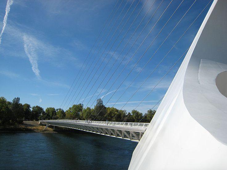 File:Sundial Bridge, view from sundial.jpg