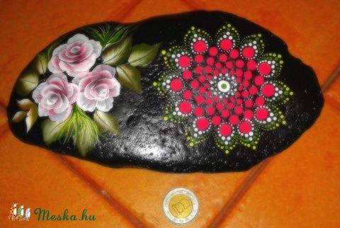 rózsa és mandala (aPiros) - Meska.hu