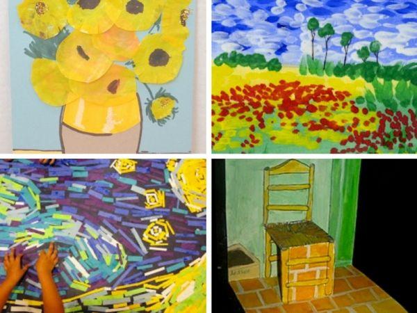 10 idee di gioco ispirate ai quadri di Van Gogh